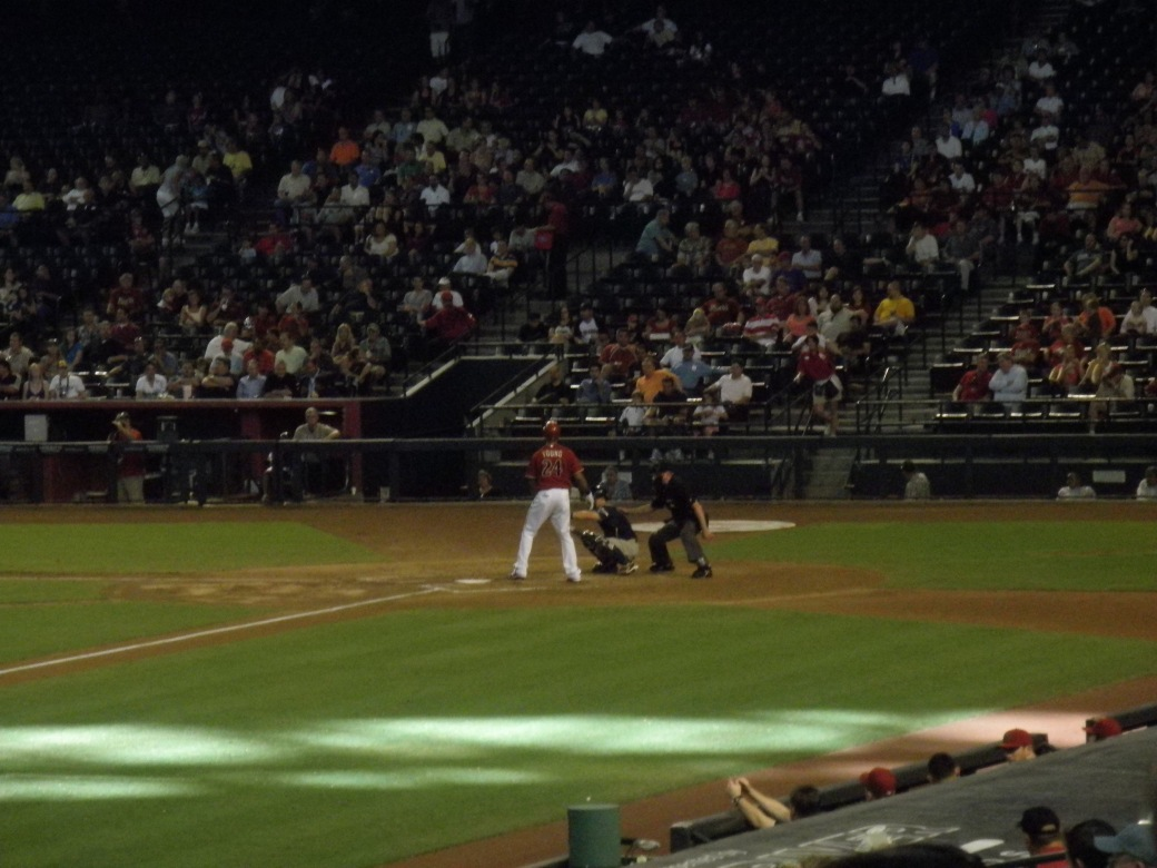 #24, Chris Young at bat